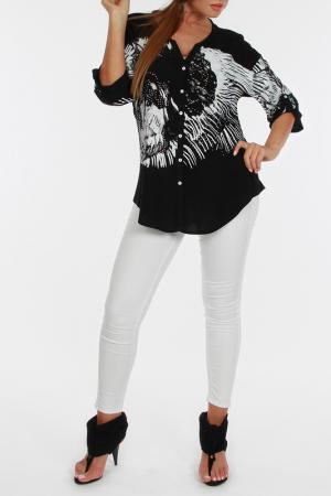 Рубашка Zer otantik. Цвет: белый