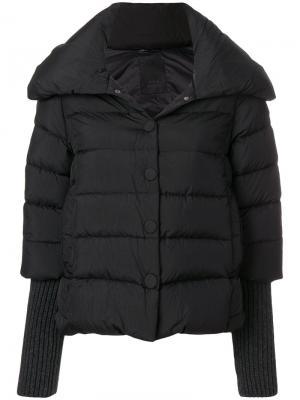 Короткая дутая куртка Tatras. Цвет: чёрный