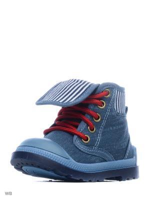 Ботинки PlayToday. Цвет: синий, красный, белый