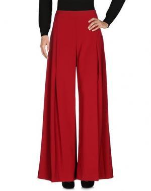 Повседневные брюки SIENNA. Цвет: красно-коричневый