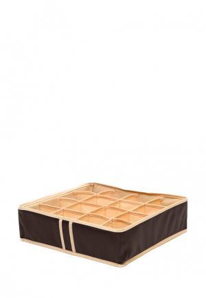 Система хранения для белья Homsu. Цвет: коричневый
