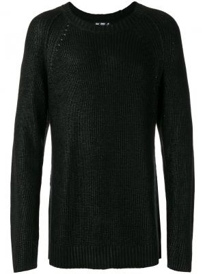 Crew neck jumper Blk Dnm. Цвет: чёрный