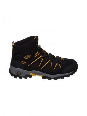 Ботинки Brutting. Цвет: черный, желтый