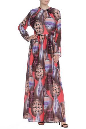 Платье MSGM. Цвет: цветной