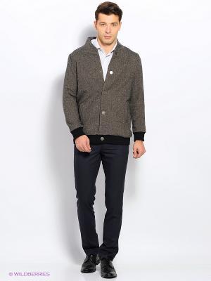 Куртка Пряник. Цвет: серый