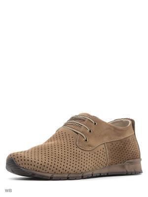 Туфли Spur. Цвет: коричневый