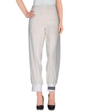Повседневные брюки Y-3. Цвет: белый