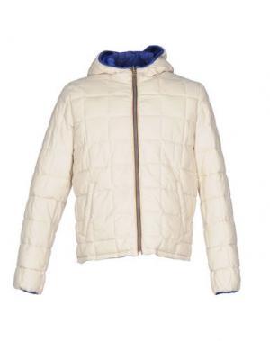 Куртка GABARDINE. Цвет: слоновая кость