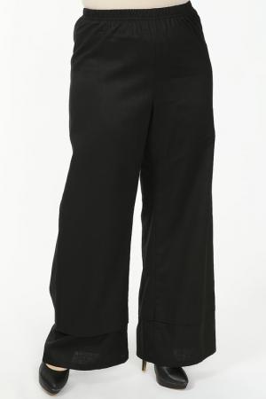 Брюки EVA Collection. Цвет: черный