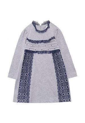 Платье Fleur de Vie. Цвет: серый