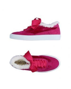 Низкие кеды и кроссовки JOYKS. Цвет: фуксия