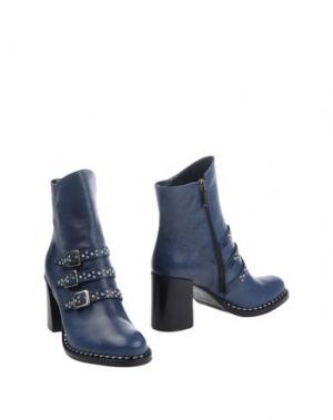 Полусапоги и высокие ботинки GRIFF ITALIA. Цвет: темно-синий