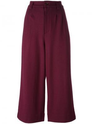 Укороченные брюки Docking Tsumori Chisato. Цвет: розовый и фиолетовый