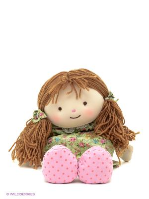 Кукла-грелка Warmheart Элли Warmies. Цвет: голубой, розовый