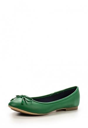 Балетки United Colors of Benetton. Цвет: зеленый