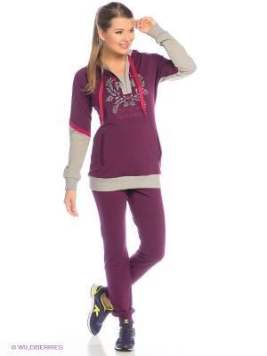 Спортивный костюм RED-N-ROCK'S. Цвет: лиловый