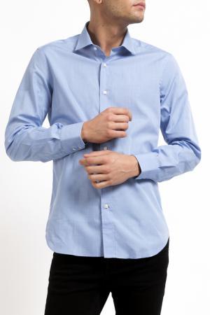 Рубашка Pierre Balmain. Цвет: голубой