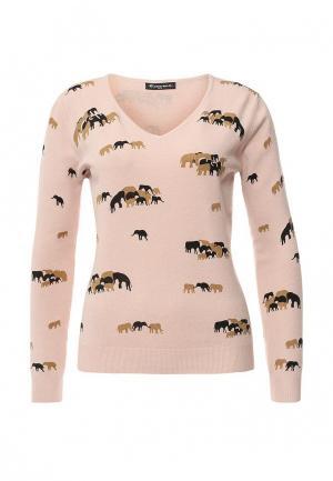 Пуловер Moda Corazon. Цвет: розовый