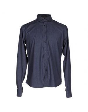 Pубашка YES ZEE BY ESSENZA. Цвет: синий