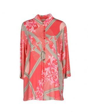 Pубашка BARONI. Цвет: коралловый