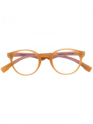Round frame glasses Family Affair. Цвет: телесный