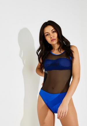 Купальник Calvin Klein Underwear. Цвет: синий