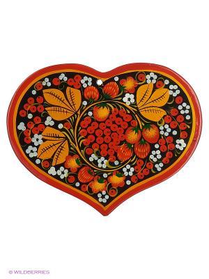 Доска разделочная Сувенир Сувенирыч. Цвет: красный