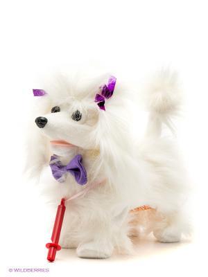 Игрушка Собачка Рози Fluffy Family. Цвет: молочный