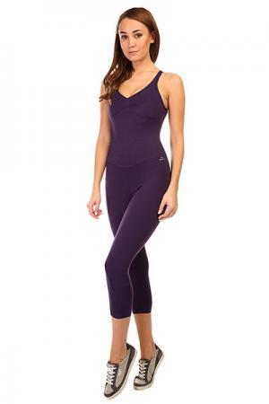 Комбинезон для фитнеса женский  New Zealand Anback Overall Purple CajuBrasil. Цвет: фиолетовый