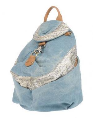 Рюкзаки и сумки на пояс MILA LOUISE. Цвет: небесно-голубой