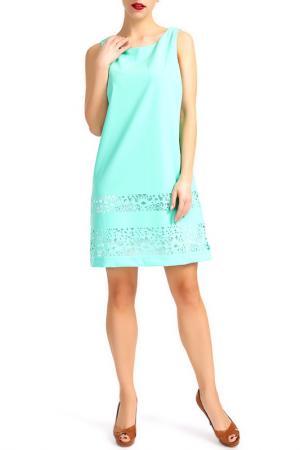 Платье Dori. Цвет: зеленый