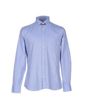 Pубашка GABARDINE. Цвет: синий