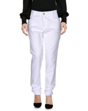 Повседневные брюки MARGAUX LONNBERG. Цвет: белый