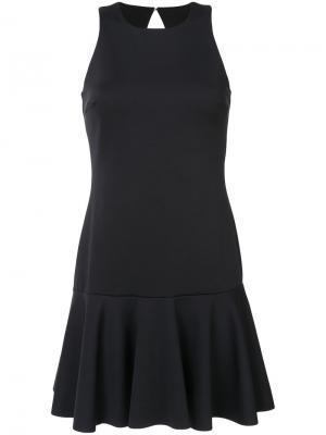 Расклешенное платье Trina Turk. Цвет: чёрный