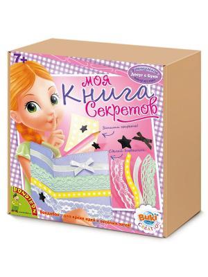 Французское творчество Досуг с Буки BONDIBON, Моя книга секретов,  арт. 5205 BONDIBON. Цвет: коричневый, розовый