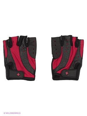 Перчатки для фитнеса женские Pro HARBINGER. Цвет: черный, розовый