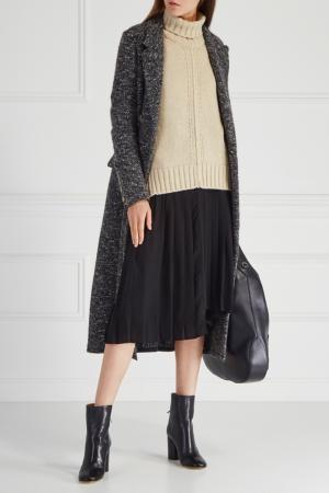 Шелковая юбка Inaya Isabel Marant. Цвет: черный