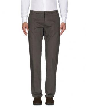 Повседневные брюки HERMAN & SONS. Цвет: зеленый-милитари
