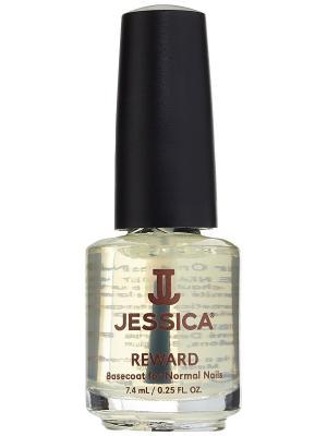 Базовое покрытие с мультивитаминами для нормальных ногтей Reward 7,4 мл JESSICA. Цвет: прозрачный