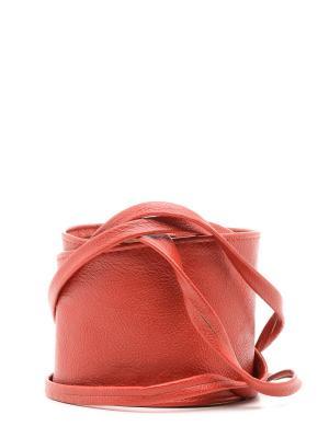 Пояс MARBI. Цвет: красный