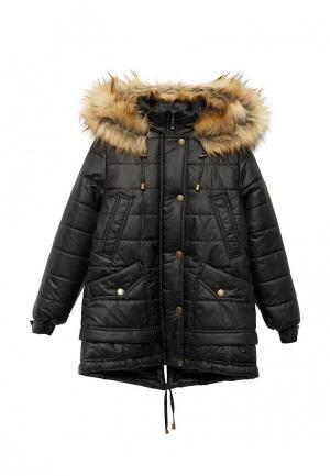 Куртка утепленная Saima. Цвет: черный
