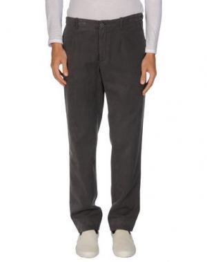 Повседневные брюки MANUEL RITZ WHITE. Цвет: свинцово-серый
