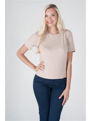 Блуза ОДЕКС-СТИЛЬ. Цвет: светло-бежевый