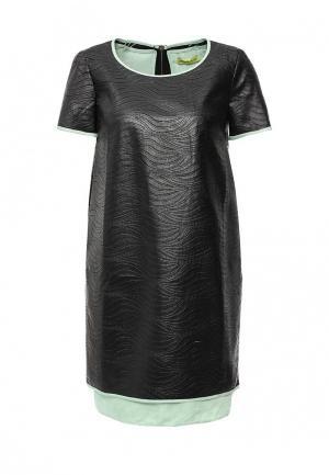 Платье Versace Jeans. Цвет: черный