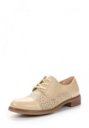 Ботинки Martin Pescatore. Цвет: бежевый