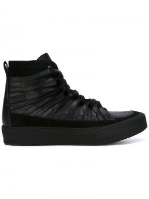 Кроссовки со шнуровкой Damir Doma. Цвет: чёрный