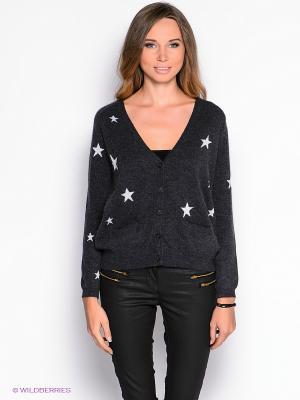 Кардиган American Outfitters. Цвет: темно-серый, серебристый