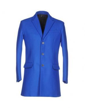 Пальто 26.7 TWENTYSIXSEVEN. Цвет: синий