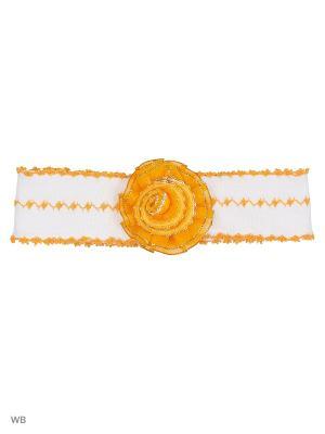 Повязка Три ползунка. Цвет: оранжевый