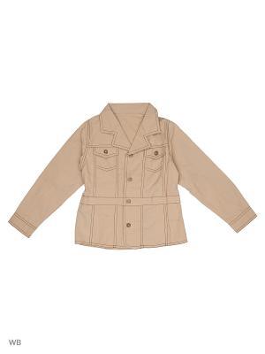 Пиджак жакет ВАЛЕНТИНА СТИЛЬ. Цвет: коричневый